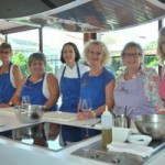 cookery class at St James